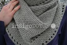 Crochet: Cowls and scarfs / Patterns and ideas to crochet stylish cowls and scarfs for our family and friends.