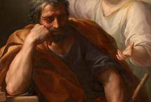 El sueño de San José. Saint Joseph dream. / En la primera referencia se refiere a las dudas de san José en relación con la futura maternidad de María. El Evangelista, nos dirá que en los sueños se aparece un ángel del Señor que, en la primera ocasión, aclara a San José el Misterio de la concepción virginal de María.