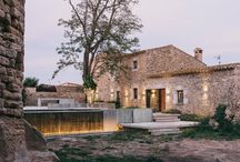 Inspiration - Castillo de Peratallada / How divine is this reinvented garden and pool area of historic Spanish villa, Castillo de Peratallada. Photos and design by Mesura Architects.