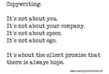 The Wordsmith / a place to share notes and articles on #copywriting, #writing and #authorship for entrepreneurs and small business