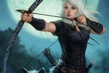 Hunter, Ranger, Druid / Hunter, Ranger, Druid RPG