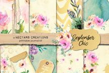 Paper crafts...... love