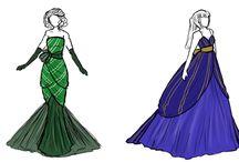 Hogwarts House inspired Fashion
