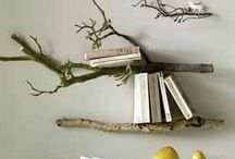 Branches in interior decoration