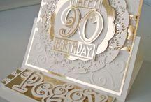 90 th Birthday caard