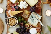 cheese and meat plater