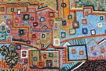 Padre de mosaico Casinhas
