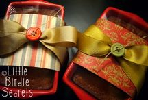Bread Wrap / Wrapping up bread for a gift / by Michele Alexander