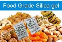 Food Grade Silica / Food Grade Silica Gel packets for Keeping Nearly Any Food Fresh