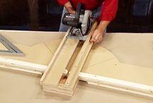 направляющие-стусло для циркулярки и фрезера
