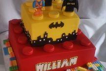 Ninos 8th birthday party Lego batman