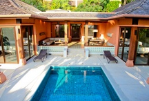 Family Suite Garden View Pool Villa Phuket / For luxurious and stylish living under one roof, One&Two Bedroom Family Suites Garden View (1-2 FS Garden) are spaciously perched along the forest /Ocean view. Base on a two-person occupancy.About 180 sq.m.in size 1FS Graden or   300 sq.m.in size 2FS Graden are nestled within its own swimming pool with a jet stream jacuzzi system, an indoor-outdoor living area, dining space, pantry, large master bedroom dressed  and state of the art entertainment system.