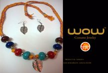 """""""WOW"""" costume jewelry / """"Costume jewelry is not made to give women an aura of wealth, but to make them beautifu""""  ― Coco Chanel  The latest trends and hot-sellers ...Ethnic costume neck-less also available in Gold (hallmark) & silver. Exclusive Collections From """"WOW"""" Status : AVAILABLE  Code : TANSAN1 Price : xxxx Check out other designs also. Shipping charges : Applicable depending on your location To place your order & to know the price, comment below. Call us @ +91-900-7529-830."""