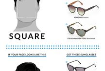 How to select sunglasses based on face shape
