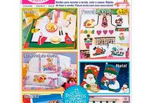 Revista Marileny Patch Mania / Revista de artesanato para Appliqué e Patchwork / Crafts Magazine for Appliqué & Patchwork