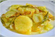 Recetas con patatas / Recetas elaboradas con patatas