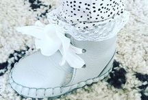 GRACIOUS | LIGHT GREY / BABY BOOTIES - Fairtrade | Handmade | Cute Factor | Durable leather | Comfortable | Easter | www.donsje.com