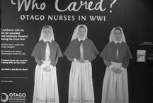 Who Cared? Otago Nurses in WW1 / These are the photos I took in the exhibit at Otago Museum (Dunedin, NZ) on Otago nurses in World War One and their experiences. This exhibit ran from late 2015 to end of January 2016.