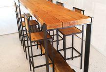 Magas asztal/szék