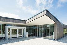 Öffentliche Gebäude gebaut von Mitgliedsfirmen des Zimmererverbandes Baden-Württemberg / Der Verband des Zimmerer- und Holzbaugewerbes Baden-Württemberg (www.holzbau-online.de) hat über 1.100 Mitgliedsbetriebe. Darunter finden Sie von der Zwei-Mann-Zimmerei bis hin zum großen Ingenieurholzbau-Unternehmen alles.