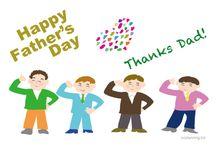 父の日    Father's Day / 父の日    Father's Dayのイラストです。 POP広告に使えるかな・・・