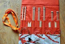 Knitting Needle Storage