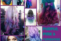 Hair colours!  / by Alicia Andrews