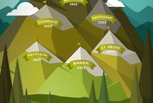inspire. mountains