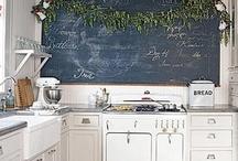 Chalkboard Paint / Glass, metal, wood, masonry, drywall, plaster....it's endless!