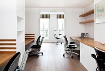 Bespoke Home Offices by Creative Woodwork / If you enjoy getting work done from the comfort of your own home then you are going to love our home offices