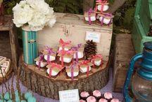 Mesas Dulces y fiestas temáticas - Party Time / Mesas dulces, candy bar, sweet table, fiestas tematicas, party time