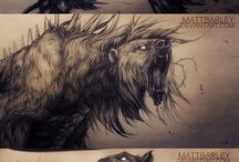 Оборотни(волки)