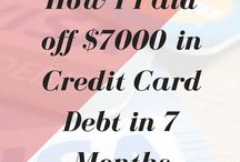 Pay Off Debt / Tips & tricks to pay off debt
