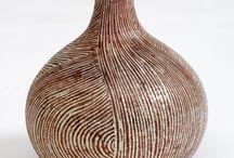 Ceramic, Porcelain - 2 / Vases, pitchers... tall pots