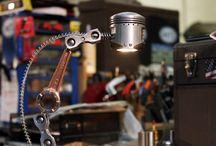 Lamp - Raw Light / Lamp, light, vintage, garage, industrial, metal, rust...