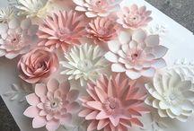 flori perete mari