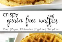 Waffles gluten and dairy free