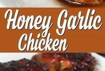 chicken honey&garlic