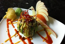 Japanese food Sushi   -Creations- / by Mikako Myoga
