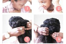 African hairdo tutorial