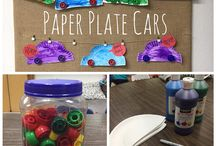 Transportation Themed Activities / Activities to go along with things that go and transportation.