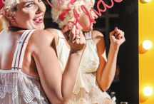 Pin up / Ensaio fotografico para a linha de lingerrie para mulheres mastectomizadas Lotus