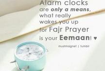 Fajr; the early morning Prayer