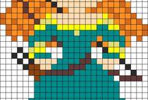 Beads/Perler/Hama Brave