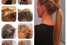 My favorite hairstyles