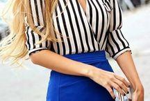 blusas y faldas
