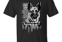 German shepherd t shirts /  Hoodie, T-shirts, Pocket cinch pack all are available in German shepherd print. It's cotton and available for both men and women.