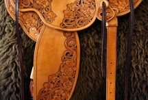 Carving Leather art