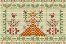 Вышивка славян