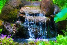 laghetti e piccole cascate